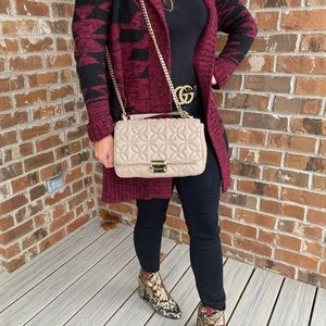 NWT Michael Kors Large Sloan Chain  Bag -Truffle